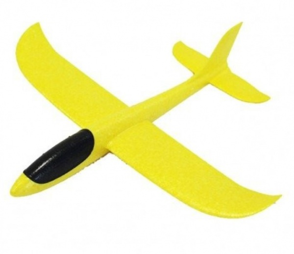 Pružné házedlo 48cm - žluté