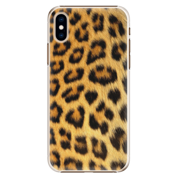 Plastové pouzdro iSaprio - Jaguar Skin - iPhone XS