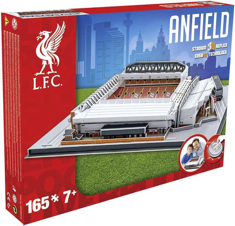 NANOSTAD 3D Puzzle model fotbalový stadion FC Liverpool anglie 165 dílků