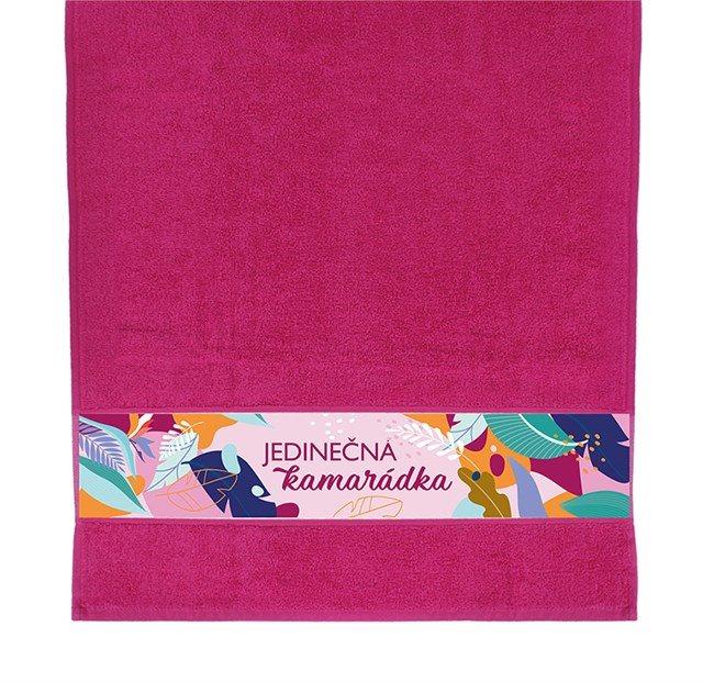 Dárkové ručníky - Ručník - Kamarádka