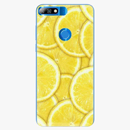 Plastový kryt iSaprio - Yellow - Huawei Y7 Prime 2018