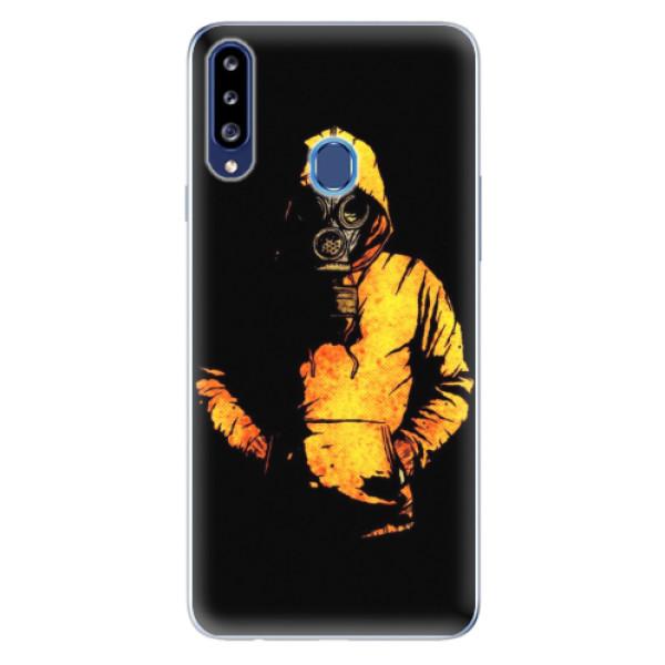 Odolné silikonové pouzdro iSaprio - Chemical - Samsung Galaxy A20s