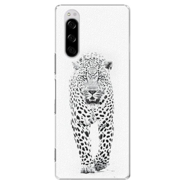 Plastové pouzdro iSaprio - White Jaguar - Sony Xperia 5