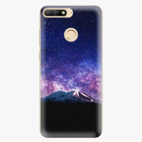Silikonové pouzdro iSaprio - Milky Way - Huawei Y6 Prime 2018