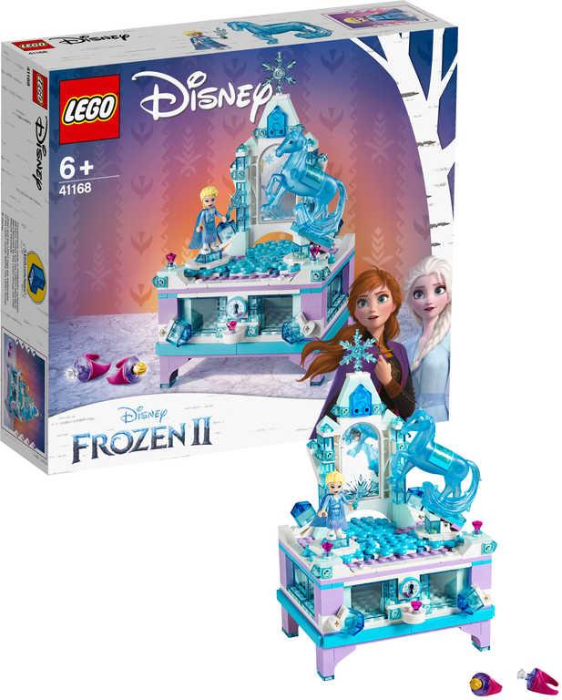 LEGO PRINCESS Frozen 2 Elsina kouzelná šperkovnice 41168 STAVEBNICE