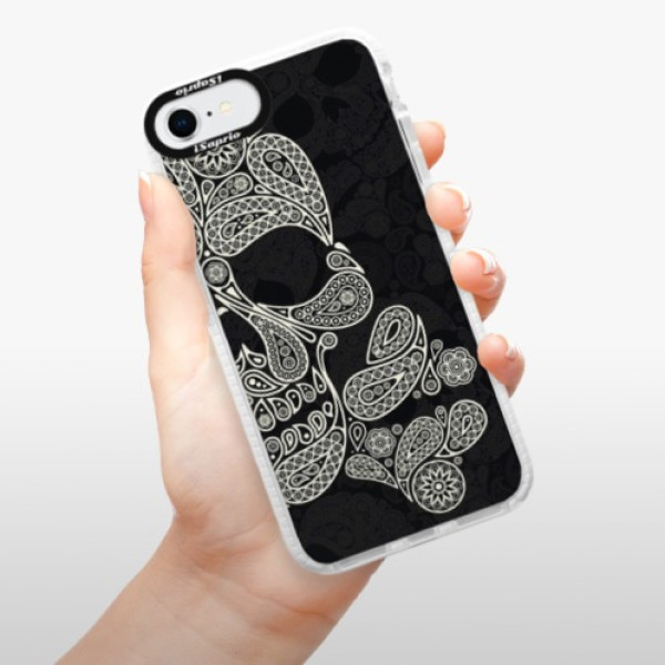 Silikonové pouzdro Bumper iSaprio - Mayan Skull - iPhone SE 2020