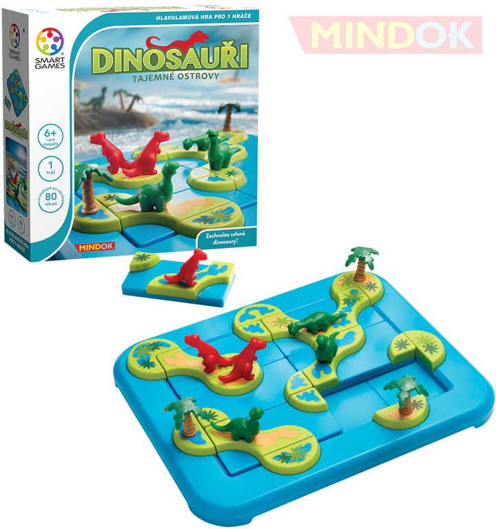 MINDOK HRA Dinosauři - Tajemné ostrovy Smart games hlavolam