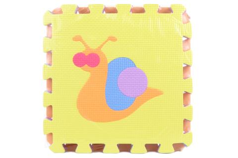 Pěnové puzzle 9 ks zvířátka
