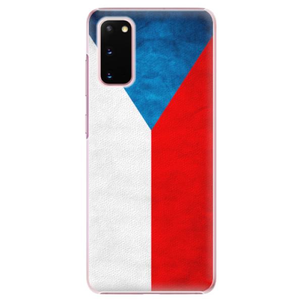Plastové pouzdro iSaprio - Czech Flag - Samsung Galaxy S20