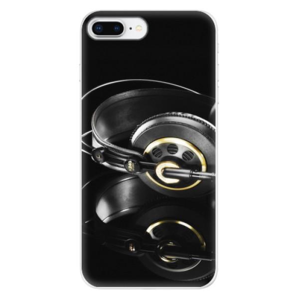 Odolné silikonové pouzdro iSaprio - Headphones 02 - iPhone 8 Plus