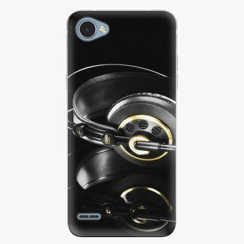 Plastový kryt iSaprio - Headphones 02 - LG Q6