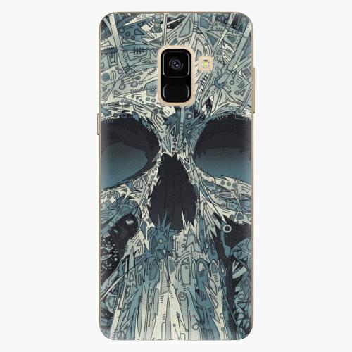 Plastový kryt iSaprio - Abstract Skull - Samsung Galaxy A8 2018