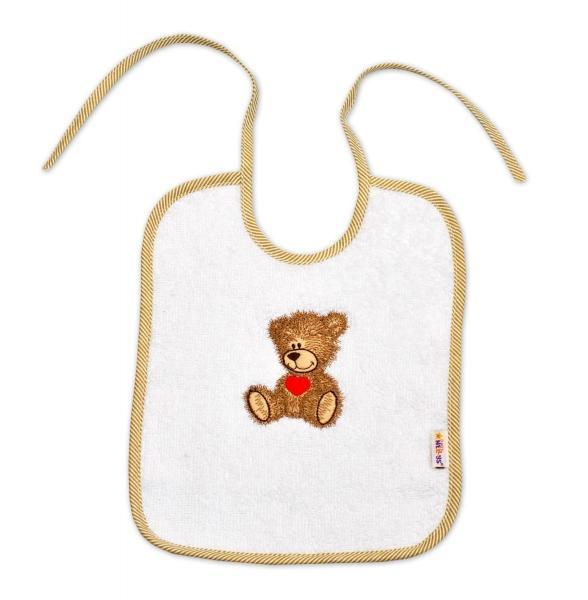 Bryndáček Baby Nellys ® Sweet dreams by TEDDY - bílý
