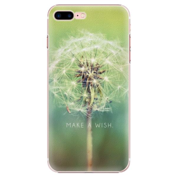 Plastové pouzdro iSaprio - Wish - iPhone 7 Plus