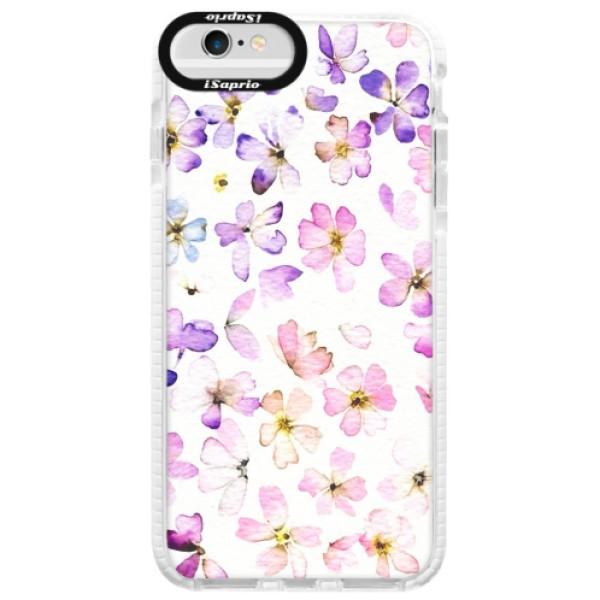 Silikonové pouzdro Bumper iSaprio - Wildflowers - iPhone 6/6S