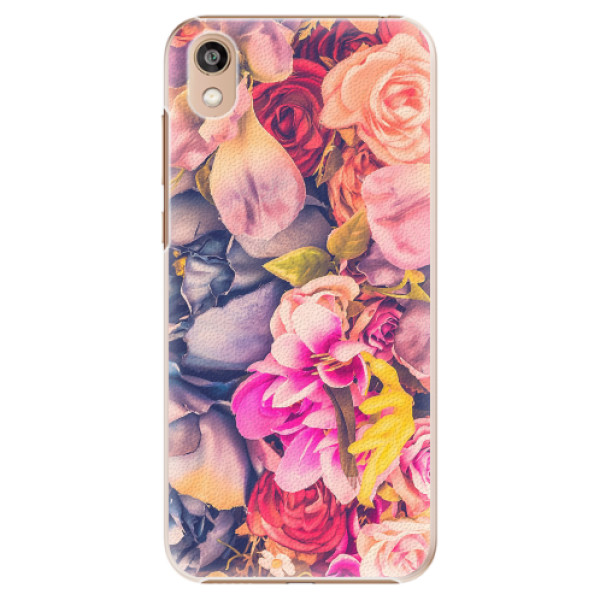 Plastové pouzdro iSaprio - Beauty Flowers - Huawei Honor 8S