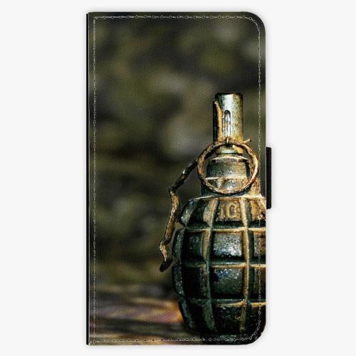 Flipové pouzdro iSaprio - Grenade - Samsung Galaxy J7 2016