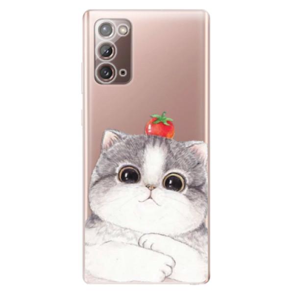 Odolné silikonové pouzdro iSaprio - Cat 03 - Samsung Galaxy Note 20