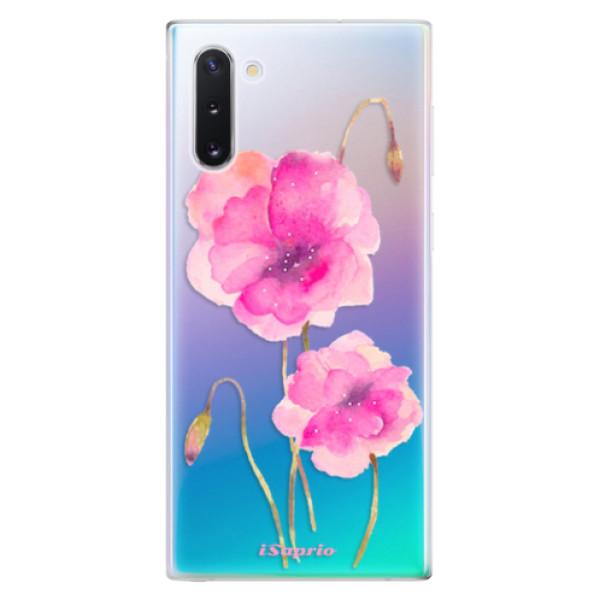 Odolné silikonové pouzdro iSaprio - Poppies 02 - Samsung Galaxy Note 10