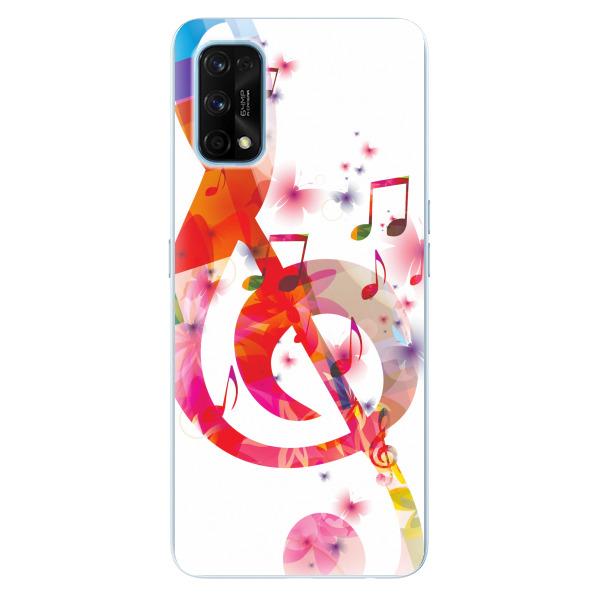 Odolné silikonové pouzdro iSaprio - Love Music - Realme 7 Pro