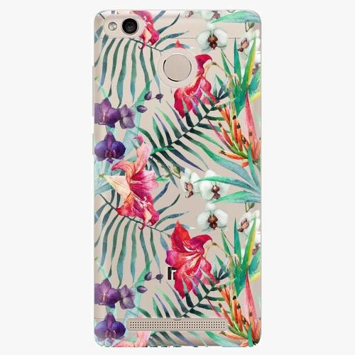 Plastový kryt iSaprio - Flower Pattern 03 - Xiaomi Redmi 3S