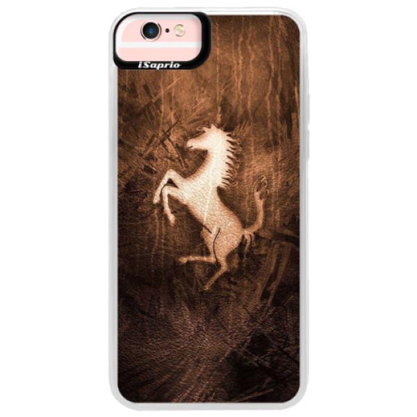 Neonové pouzdro Pink iSaprio - Vintage Horse - iPhone 6 Plus/6S Plus