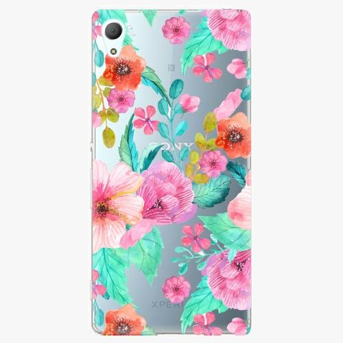 Plastový kryt iSaprio - Flower Pattern 01 - Sony Xperia Z3+ / Z4