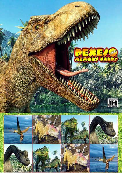 JIRI MODELS Pexeso Dinosaurus
