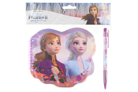 Frozen 2 Zápisník s propiskou