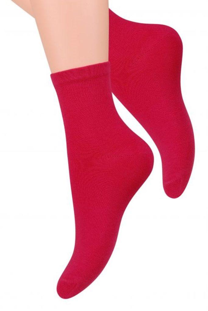 Dámské ponožky 037 red