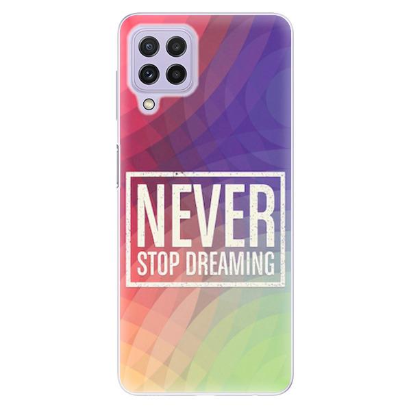 Odolné silikonové pouzdro iSaprio - Dreaming - Samsung Galaxy A22