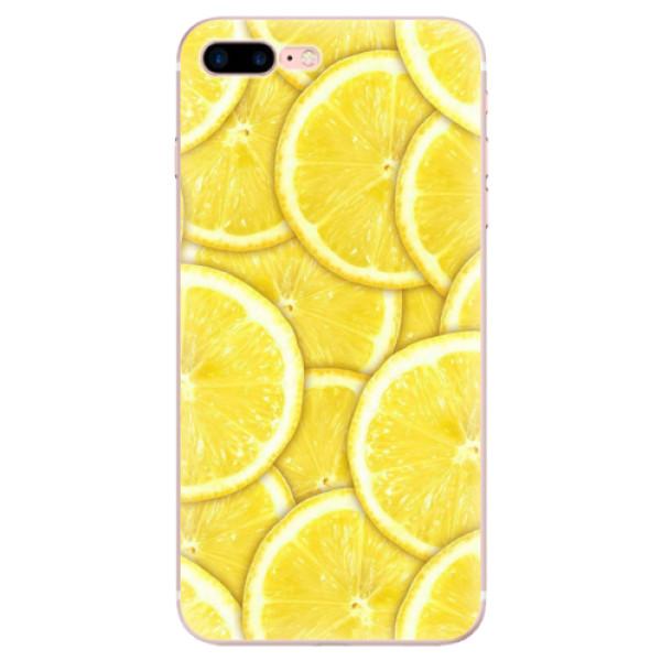 Odolné silikonové pouzdro iSaprio - Yellow - iPhone 7 Plus