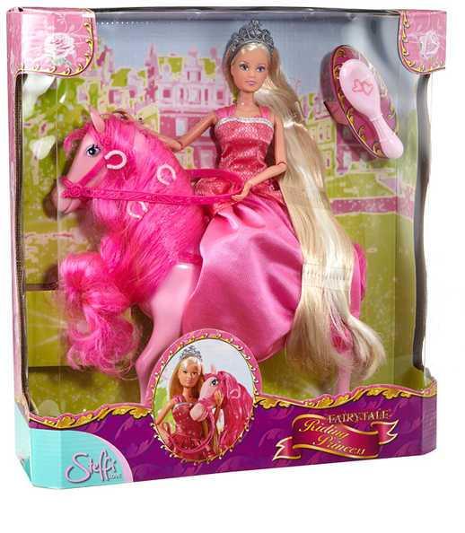 SIMBA Panenka Steffi Princezna 29cm set s koněm a doplňky 2 druhy