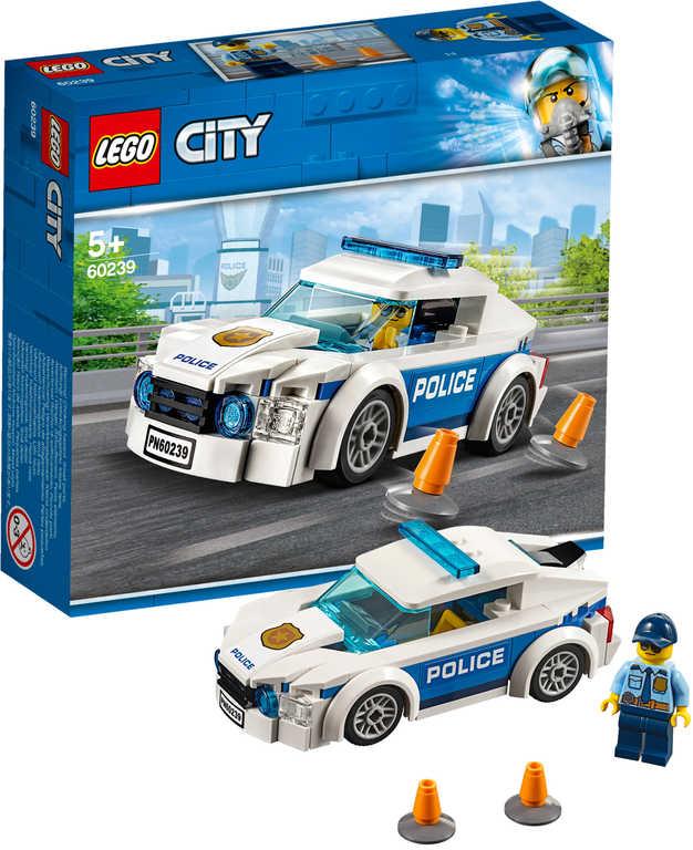 LEGO CITY Auto policejní 60239