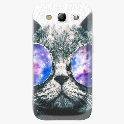 Plastový kryt iSaprio - Galaxy Cat - Samsung Galaxy S3