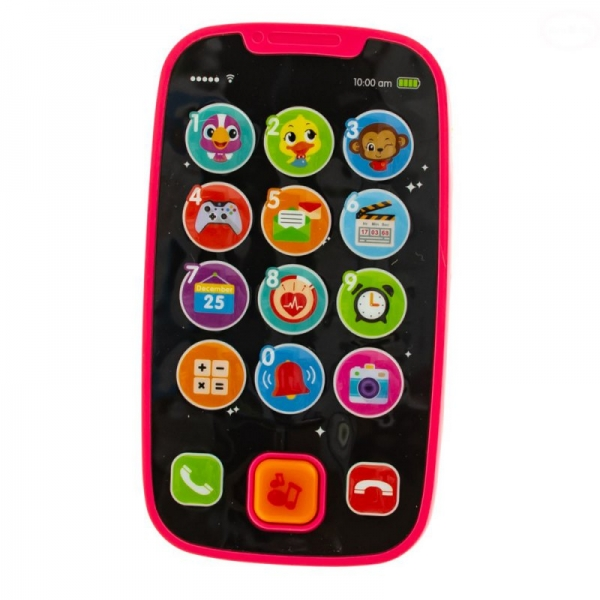 Interaktivní hračka Euro Baby s melodii - Smart Mobil