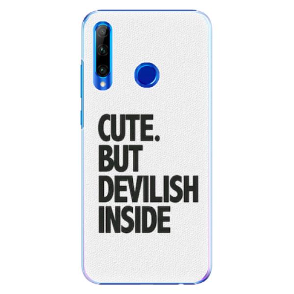 Plastové pouzdro iSaprio - Devilish inside - Huawei Honor 20 Lite