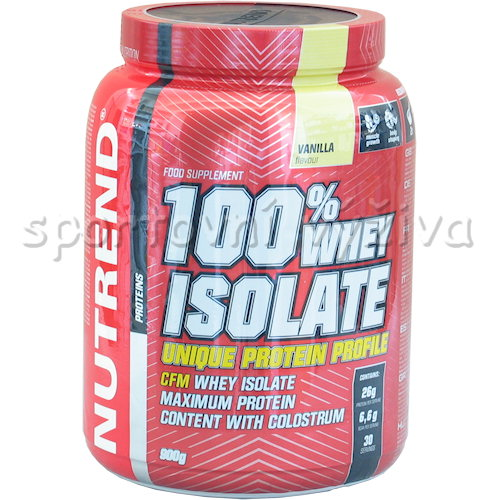 100% Whey Isolate - 900g-banan