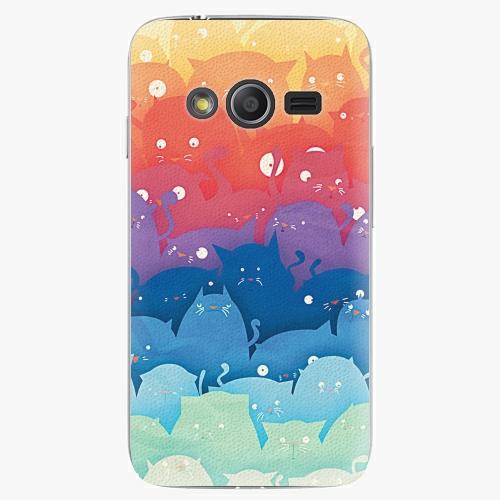 Plastový kryt iSaprio - Cats World - Samsung Galaxy Trend 2 Lite