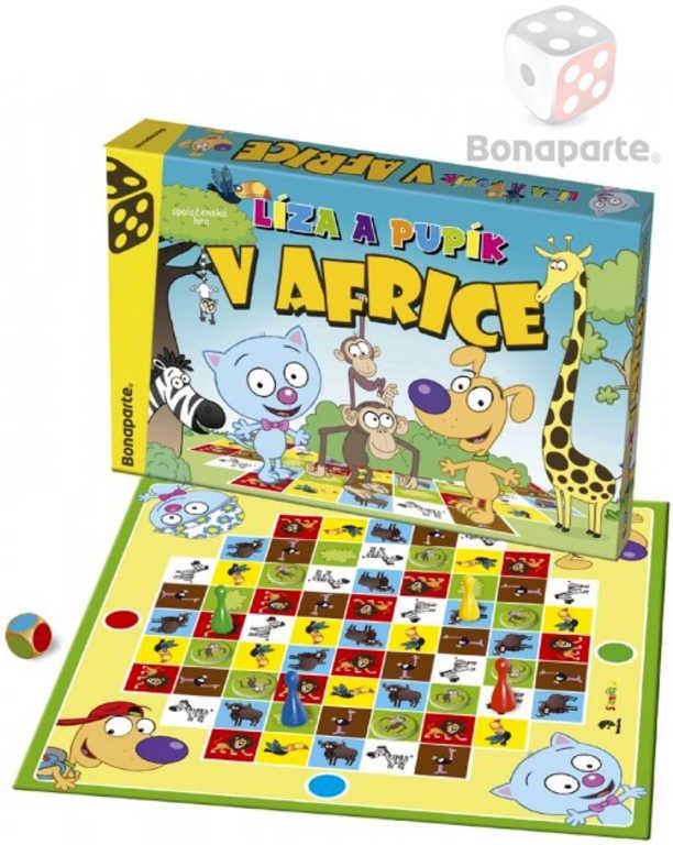 BONAPARTE Hra Líza a Pupík v Africe *SPOLEČENSKÉ HRY*