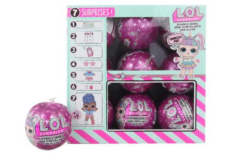 L.O.L. Surprise Třpytková panenka PDQ