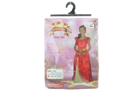 Šaty - Princezna, 130 - 140 cm