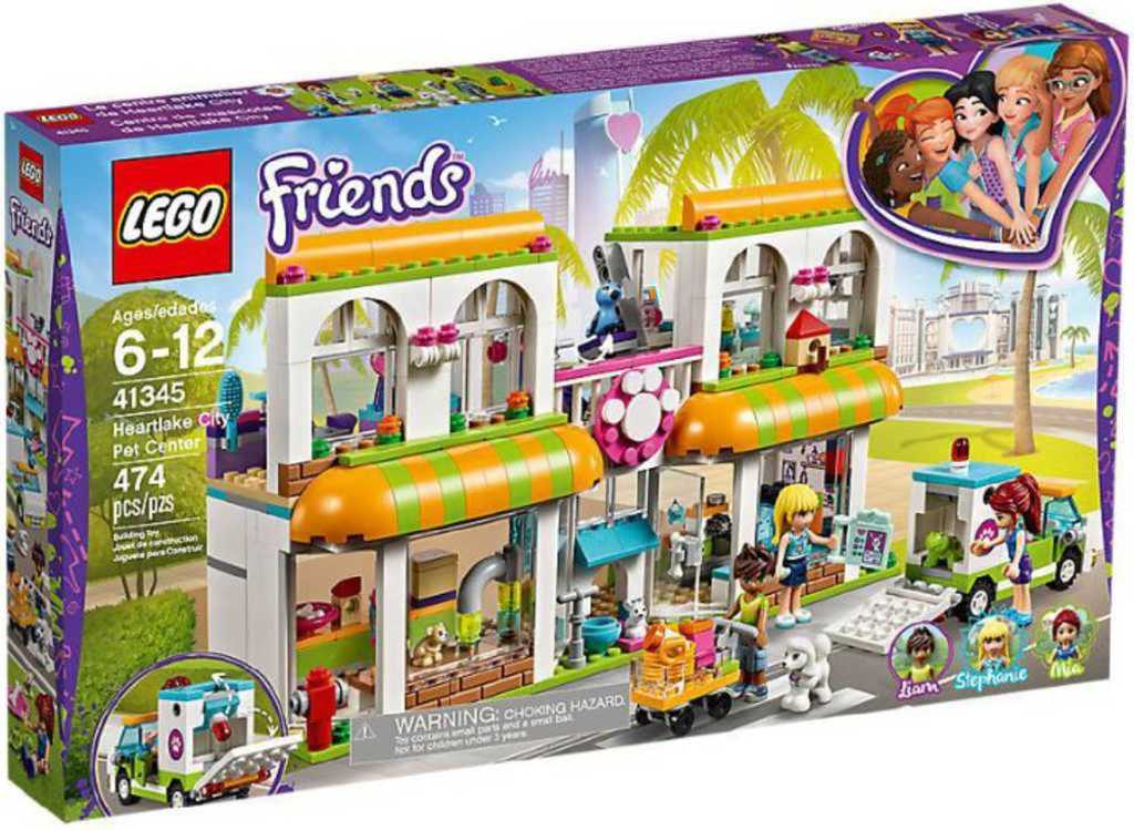 LEGO FRIENDS Obchod pro domácí mazlíčky v Heartlake 41345