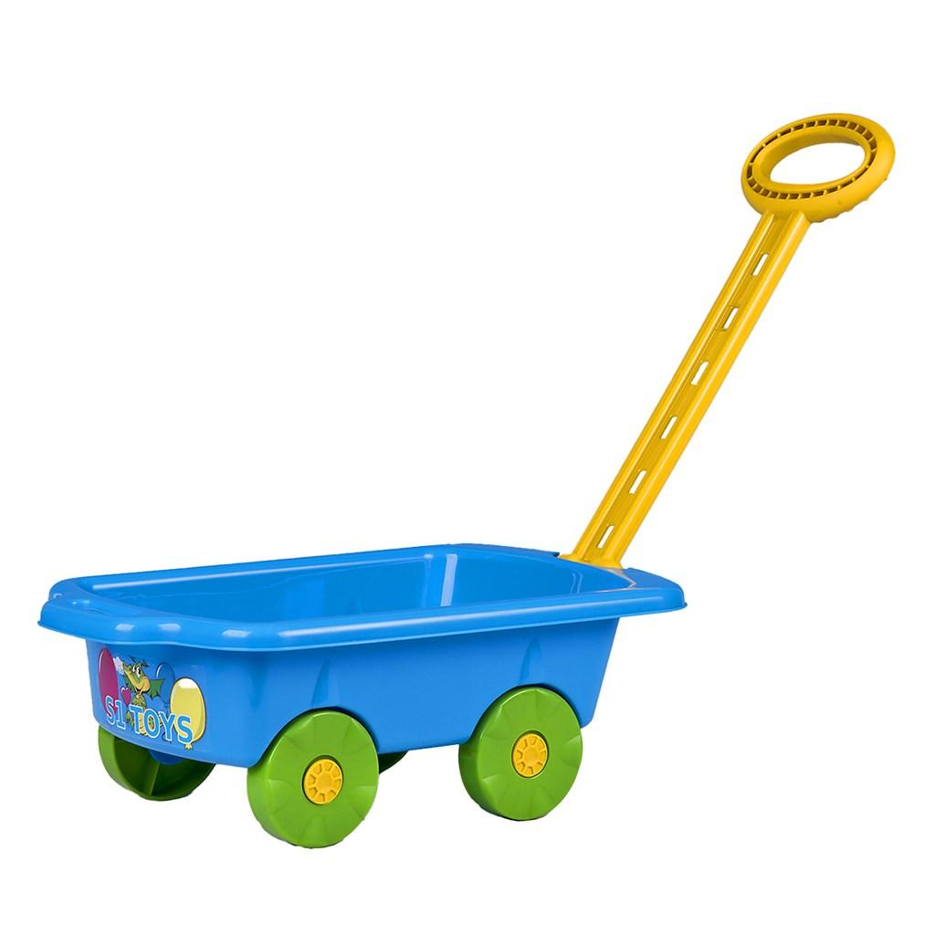 Dětský vozík Vlečka BAYO 45 cm - modrá