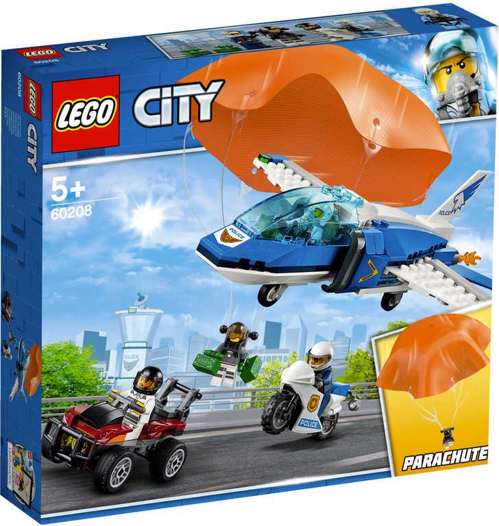 LEGO CITY Zatčení zloděje s padákem 60208