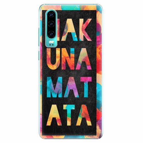Plastový kryt iSaprio - Hakuna Matata 01 - Huawei P30