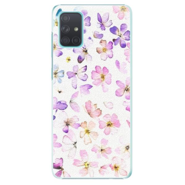 Plastové pouzdro iSaprio - Wildflowers - Samsung Galaxy A71