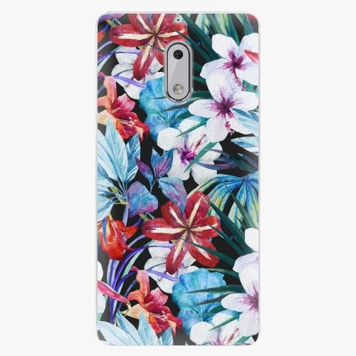 Plastový kryt iSaprio - Tropical Flowers 05 - Nokia 6
