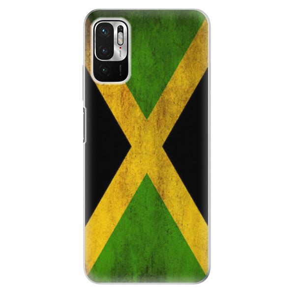 Odolné silikonové pouzdro iSaprio - Flag of Jamaica - Xiaomi Redmi Note 10 5G