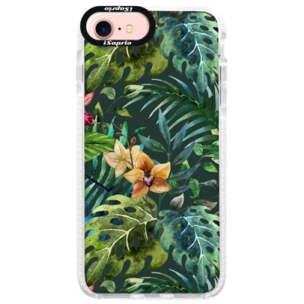 Silikonové pouzdro Bumper iSaprio - Tropical Green 02 - iPhone 7